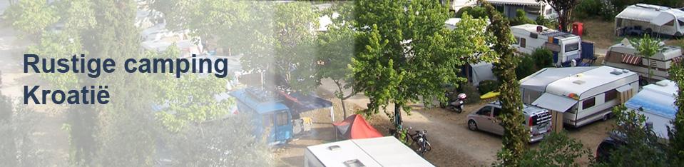 Rustige camping Kroatië